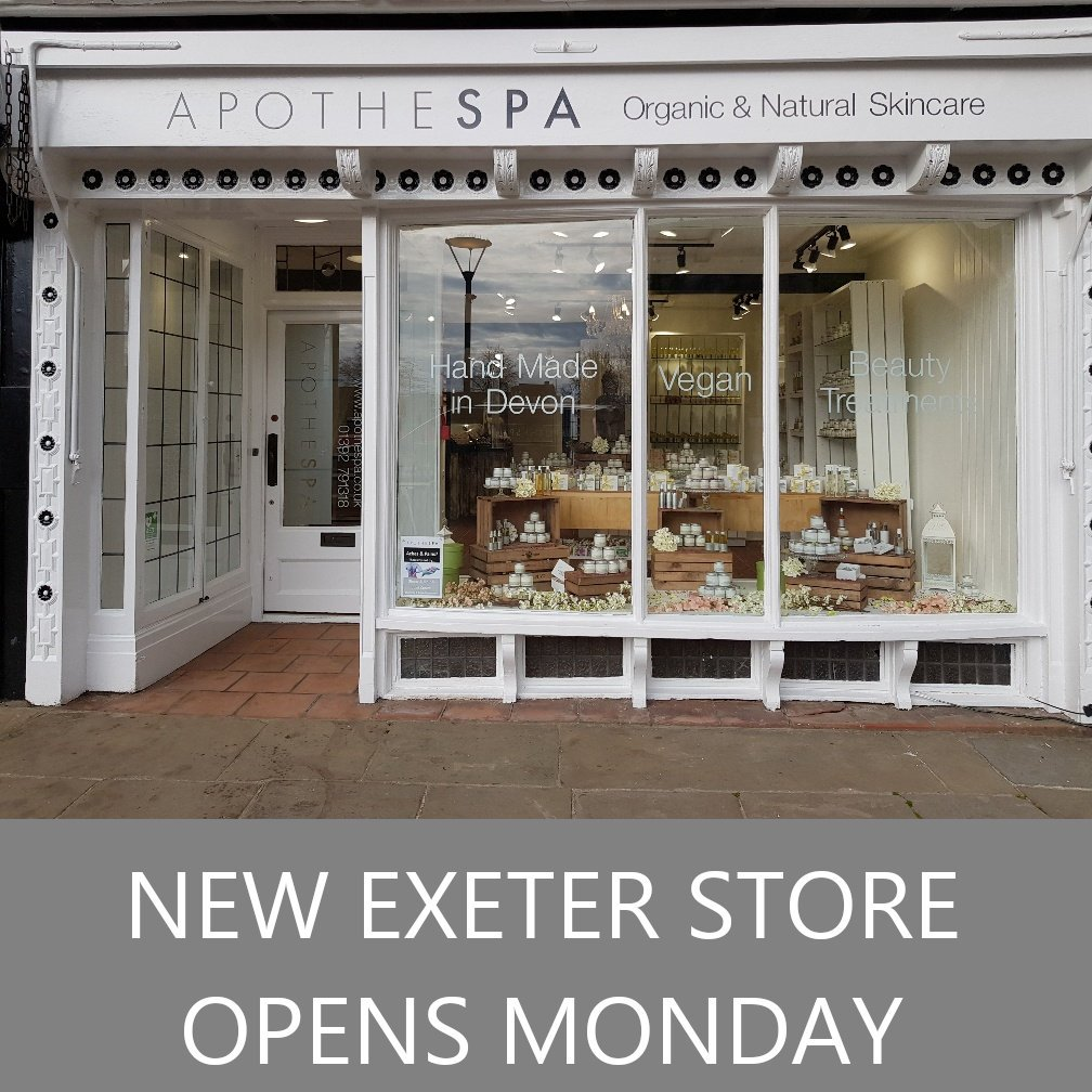 New Exeter Apothespa Store Opening on Monday!