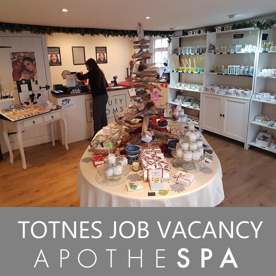 Assistant Manager (part-time) Job Vacancy Totnes