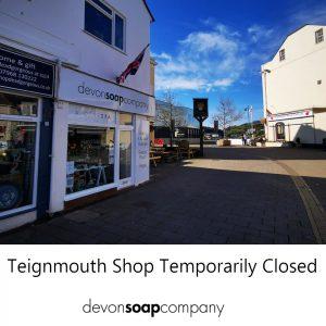 Teignmouth Shop Temporarily Closed
