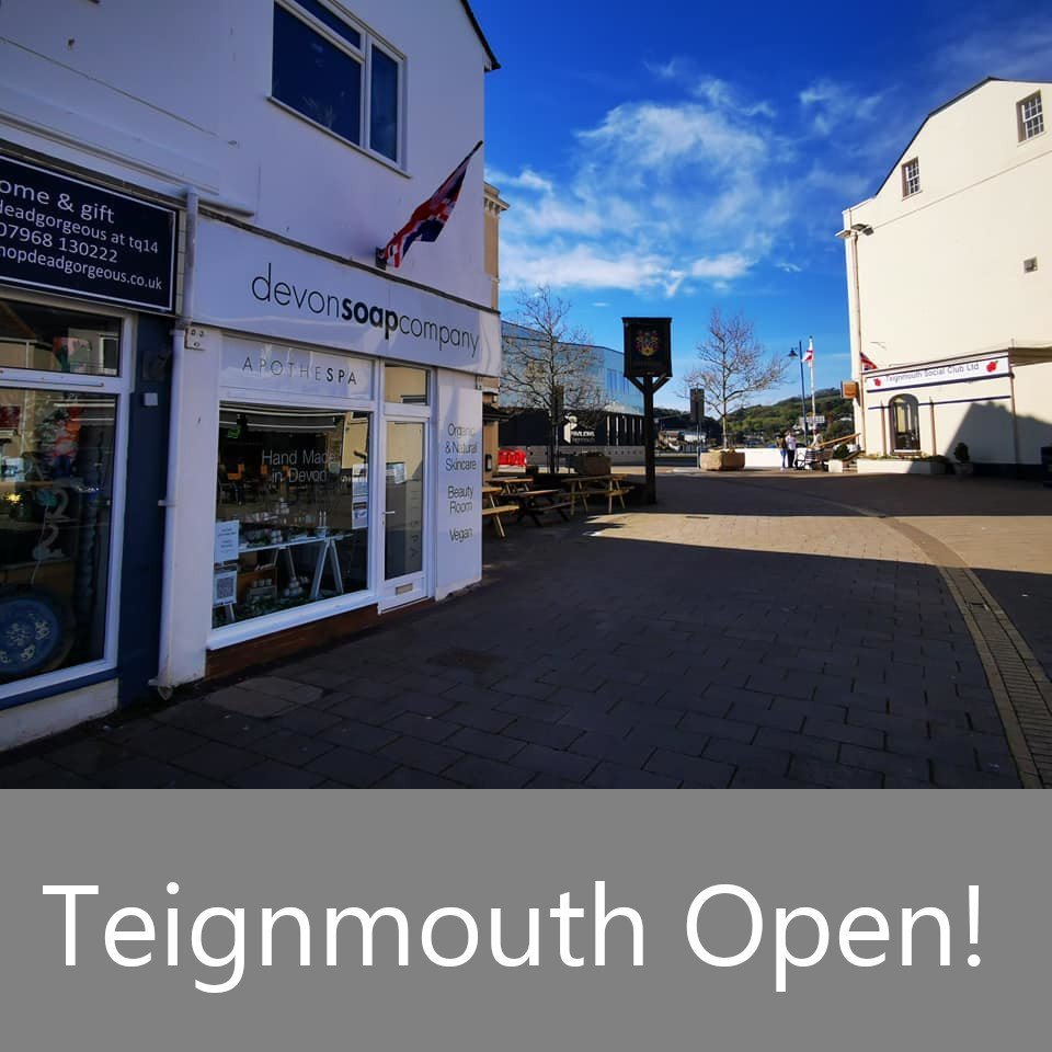 Teignmouth Shop & Beauty Room Has Re-Opened